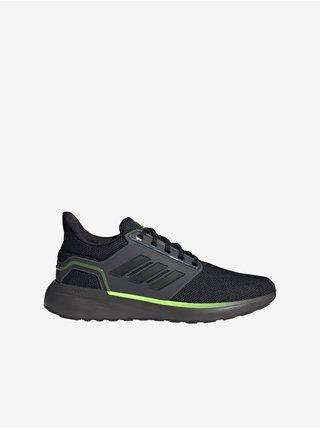 Zeleno-černé pánské boty adidas Performance EQ19 Run Winter