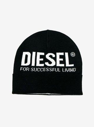 Čiapky, čelenky, klobúky Diesel - čierna