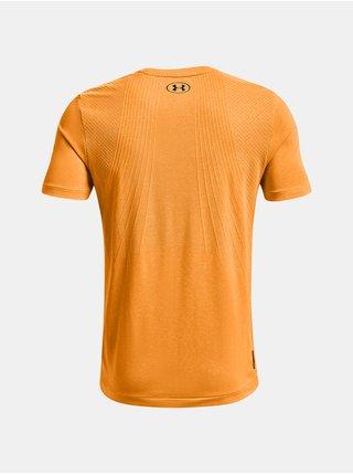 Tričko Under Armour UA Rush Seamless SS - oranžová