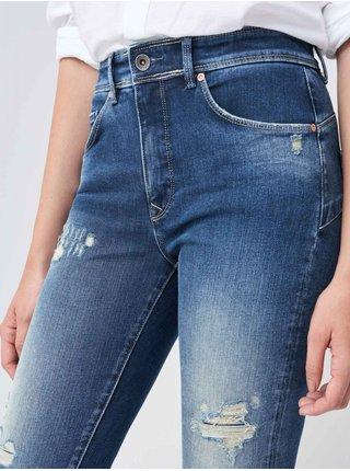 Modré dámské skinny fit džíny Salsa Jeans Secret Glamour