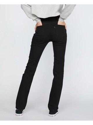 Černé dámské straight fit džíny Levi's® 724