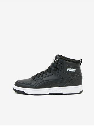 Černé pánské kotníkové boty Puma
