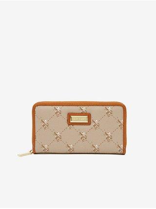 Peňaženky pre ženy U.S. Polo Assn. - hnedá