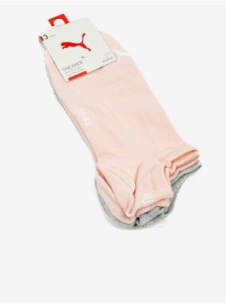 Doplnky Puma - biela, sivá, ružová