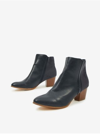 Černé chelsea boty CAMAIEU