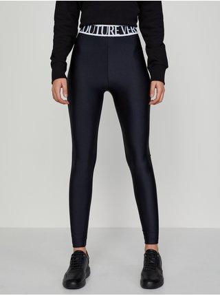 Černé dámské legíny Versace Jeans Couture