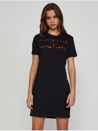 Šaty na denné nosenie pre ženy Versace Jeans Couture - čierna