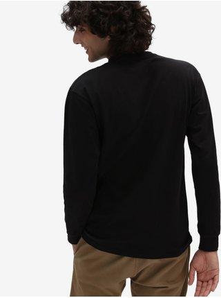 Čierne pánske tričko VANS Left Chest