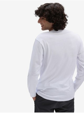 Biele pánske tričko VANS Left Chest