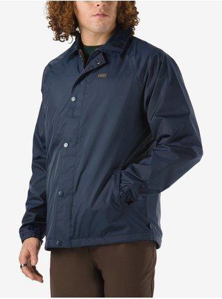 Hnědo-modrá pánská oboustranná bunda VANS Torrey