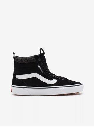 Bílo-černé dámské semišové boty VANS Filmore