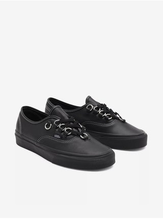 Čierne pánske kožené topánky VANS Authentic Hardware