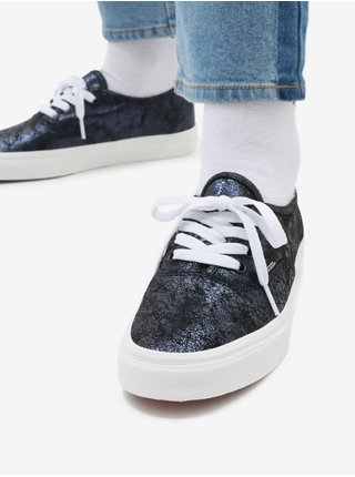 Tmavomodré pánske semišové topánky VANS Authentic