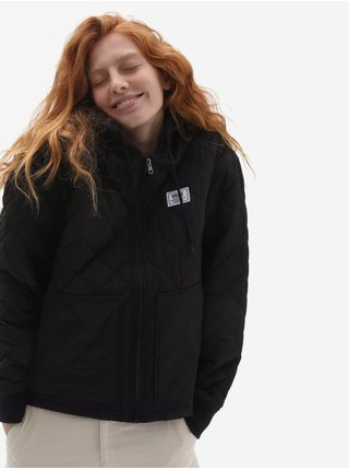 Černá prošívaná bunda VANS Boom