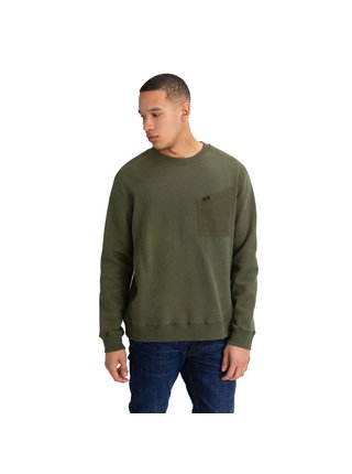 Mikina Military Details Sws Olive Green Lee