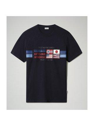 Tričko Silea Blu Marine Napapijri
