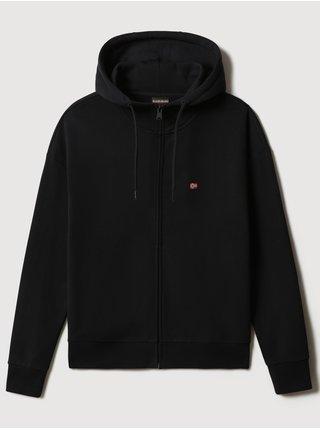 Černá dámská mikina na zip s kapucí NAPAPIJRI Balis Hood W