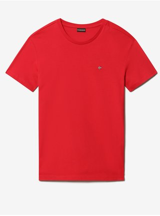 Červené pánske tričko NAPAPIJRI Salis C SS 1
