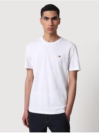 Bílé pánské tričko NAPAPIJRI Salis C SS 1