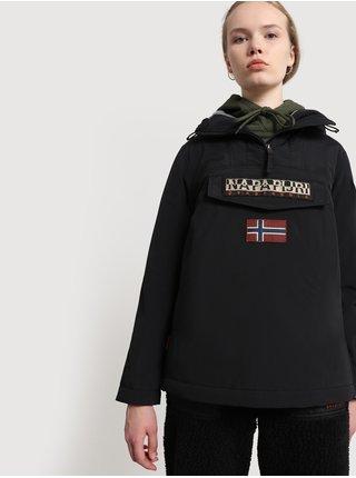 Černý dámský anorak s kapsou na zip NAPAPIJRI Rainforest W Wint 4