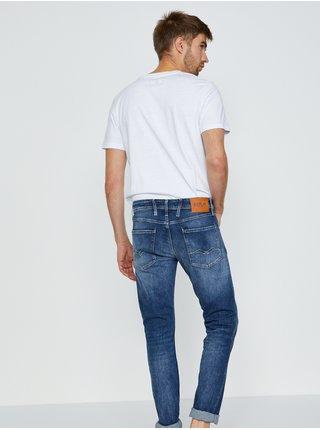 Slim fit pre mužov Replay - modrá