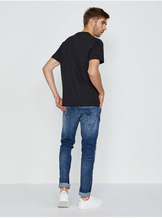Černé pánské tričko Replay