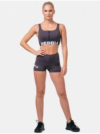 Nohavice a kraťasy pre ženy NEBBIA - fialová