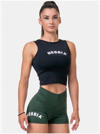Černé sportovní tílko Nebbia