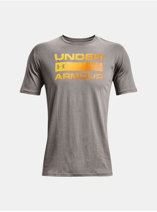 Tričko Under Armour UA TEAM ISSUE WORDMARK SS-GRY