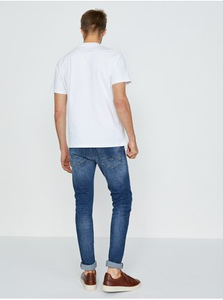 Bílé pánské tričko Replay