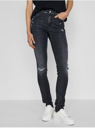 Černé dámské skinny fit džíny Replay