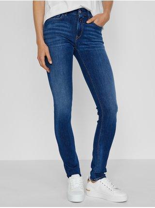 Tmavě modré dámské skinny fit džíny Replay