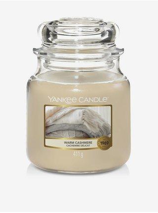 Vonná sviečka Yankee Candle Warm Cashmere (Classic stredná)