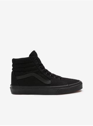 Čierne pánske členkové topánky VANS SK8-Hi