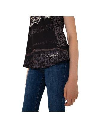 Tričko Woman Knitted Sleeveless T-Shirt Desigual