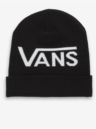 Bílo-černá dámská čepice s nápisem VANS