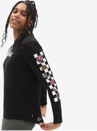 Bílo-černé dámské tričko VANS Shnabby