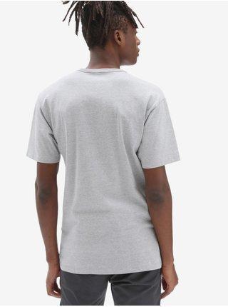 Tričká s krátkym rukávom pre mužov VANS - svetlosivá