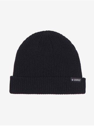 Čiapky, čelenky, klobúky Converse - čierna