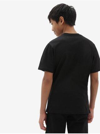 Černé dětské tričko s potiskem Print Box