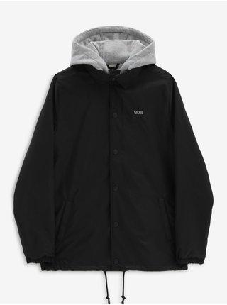 Šedo-černá pánská bunda VANS Riley