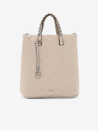 Béžová kabelka/batoh Tamaris