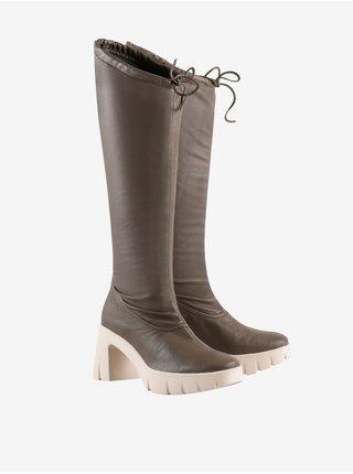 Zimná obuv pre ženy Högl - tmavohnedá