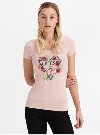 Guess púdrové tričko Rebeca Tee
