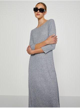 Šaty na denné nosenie pre ženy TOP SECRET - svetlosivá