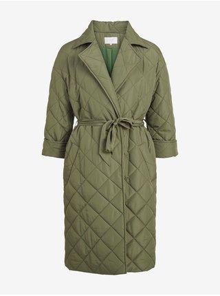 Kabáty pre ženy VILA - kaki