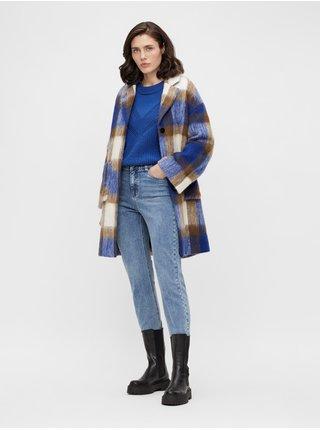 Kabáty pre ženy .OBJECT - modrá, hnedá, béžová