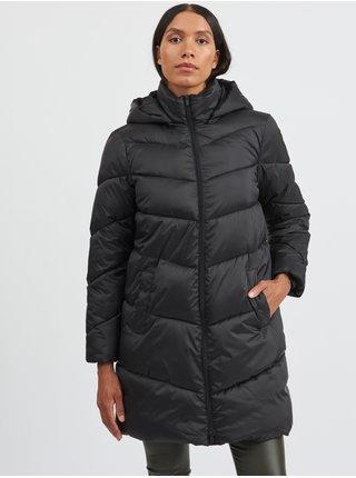 Kabáty pre ženy VILA - čierna