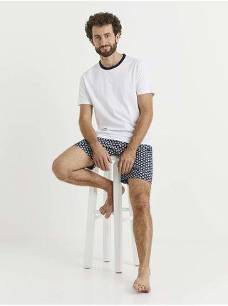 Pyžamá pre mužov Celio - biela
