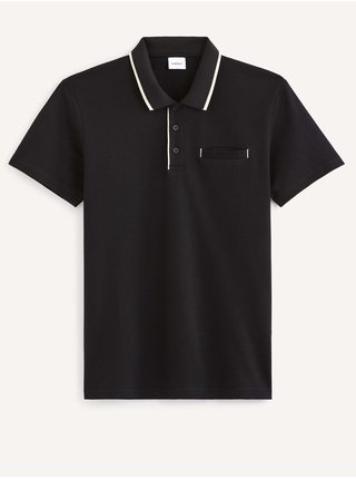 Tričká s krátkym rukávom pre mužov Celio - čierna